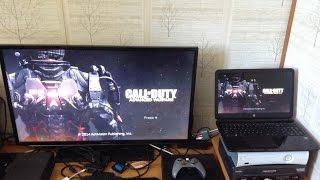 How To Use Your Laptop As A Monitor With Xbox One!!!!!!!
