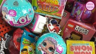 40 Sorpresas una caja llena de JUGUETES L.O.L. Surprise, Ladybug, ForeverRings, Muñecas, Lego Disney