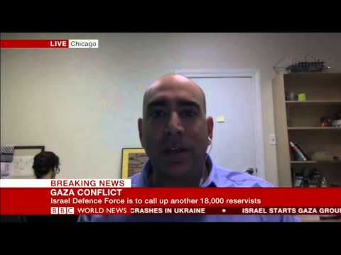 BBC WORLD NEWS INTERVIEW WITH Ali Abunimah 18 Jul 2014