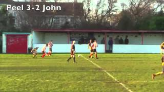 Season 2012-13: Peel Combi 4-4 St Johns Combi
