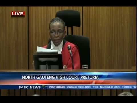 Oscar Pistorius Trial: Thursday: 11 September 2014, Session 1