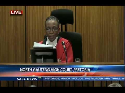Oscar Pistorius Trial: Thursday: 11 September 2014, Session 1