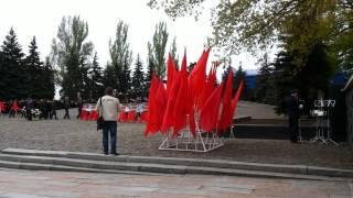 в ровеньках прошел военный парад, посвященный дню защитника отечества