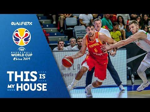 Spain v Belarus - Highlights - FIBA Basketball World Cup 2019 - European Qualifiers