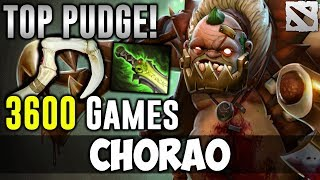 CHARAO 3600 Games PUDGE TOP PLAYER Dota 2