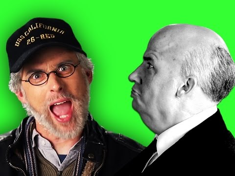 Steven Spielberg vs Alfred Hitchcock. Behind the Scenes of Epic Rap Battles of History