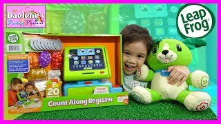 LeapFrog Count Along Register with My Pal Scout & Princess Elsa & Olaf Pretend Play Store @DaeleneFP