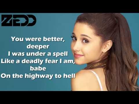 Ariana Grande Break Free feat. Zedd Karaoke instrumental with lyrics