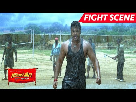 Manchu Manoj Best Action Scene - Saves Rakul Preet Singh - Current Theega Movie Scenes thumbnail