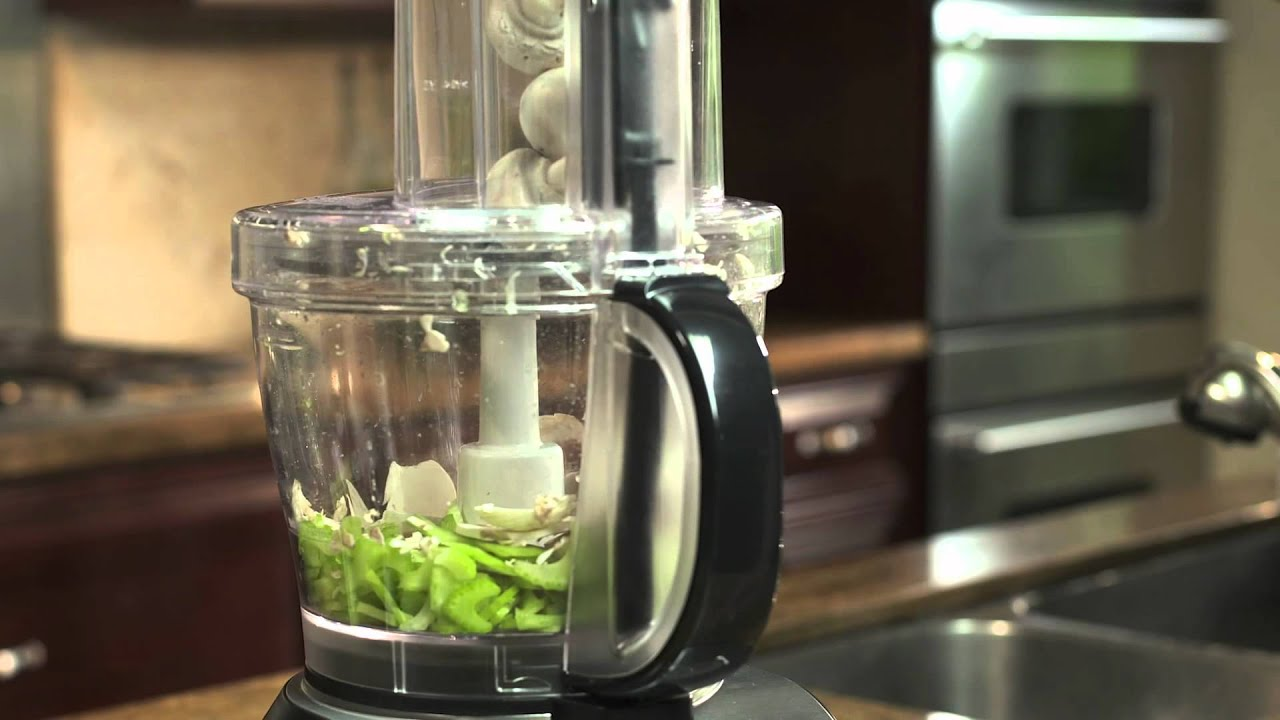 Farberware 12-Cup Food Processor with 4-Cup Nested ...