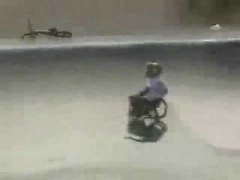 Extreme Wheelchair Tricks