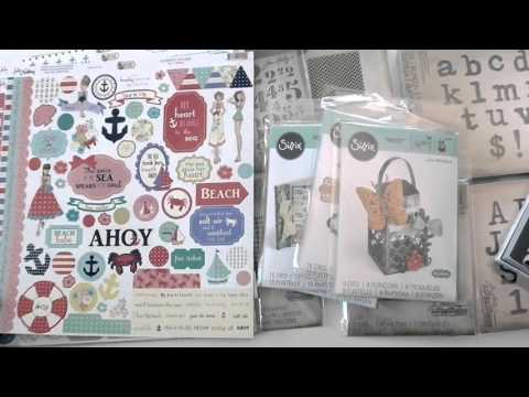 New Tim Holtz, Sizzix, Webster's Pages, and Julie Nutting Collection