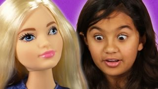 Kids Review The New Barbie Bodies