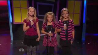 Avery and The Calico Hearts- Top 48 America's Got Talent (Q4) LIVE