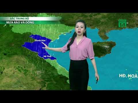 Thời tiết 6h 17/09/2018: Quảng Ninh, Cao Bằng, Lạng Sơn có gió mạnh cấp 6, giật cấp 7  VTC14