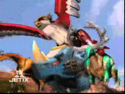 Power Rangers Wild Force - Isis Megazord Transformation