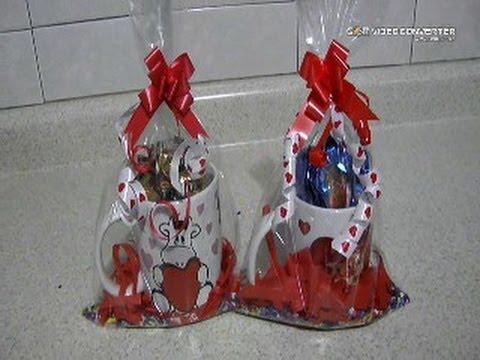 Como hacer taza con chocolates para regalar en san - Cosas para regalar en navidad ...