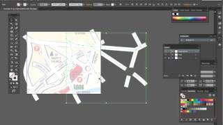 Drawing a simple street map using Adobe Illustrator