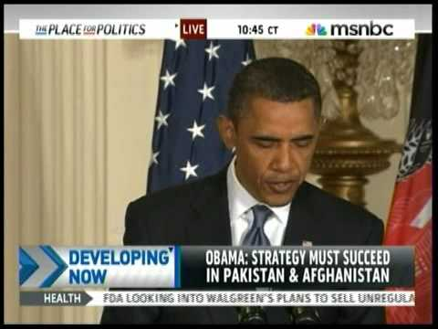 Obama/Karzai Press Conference Part 1 of 6