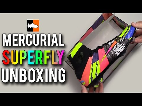What The Superfly IV Unboxing | Nike Limited Edition Mercurial Football Boots