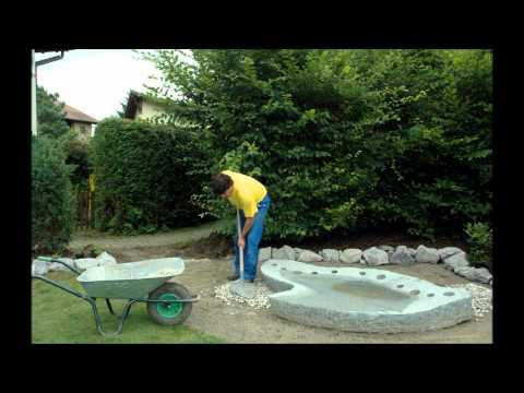 Gartenneugestaltung Mit Wasser.wmv