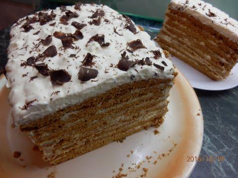 МЕДОВИК РЕЦЕПТ /τούρτα μέλι/ honey cake