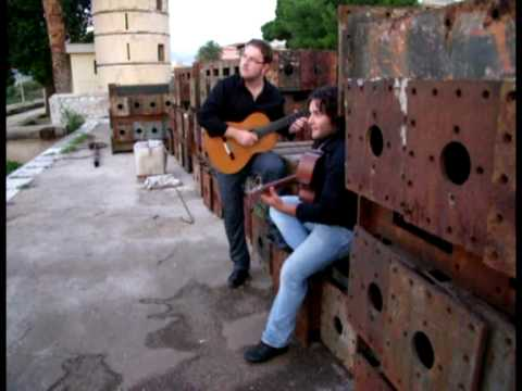 RT GUITAR DUO - Photo Backstage - New Album 2009