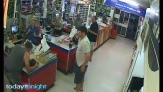 Amazing Hero Saves Baby not breathing near death in IGA Store