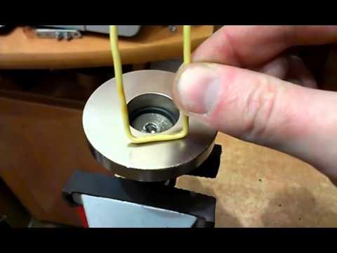 Опыты с постоянными магнитами и проводником с током.