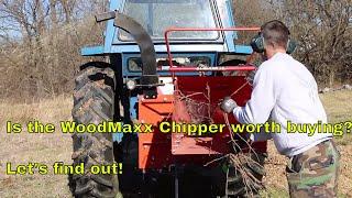 WoodMaxx WM 8H Woodchipper (PTO)--Is it Worth the Money?