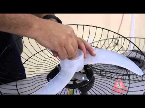 Instalação ventilador de parede venti delta