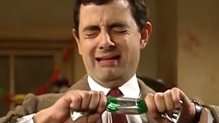 Christmas Crackers  | Funny Clips | Mr Bean Official