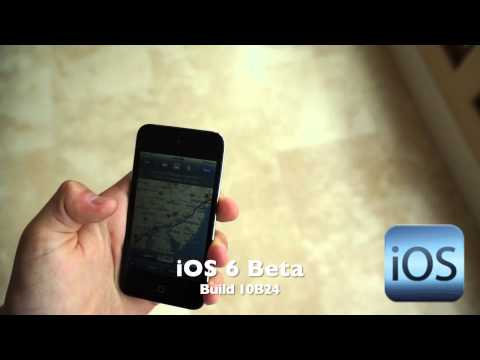 iOS 6 Beta (Build 10B24)
