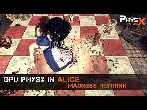 GPU PhysX in Alice: Madness Returns