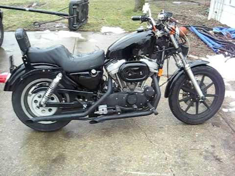 1993 harley sportster 883 with big bore kit