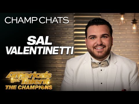 """Sal """"The Voice"""" Valentinetti Wants To Know How YOU Doin'?! - America's Got Talent: The Champions"""