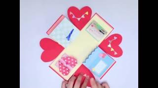 SNSで流行の激カワプレゼントボックスの作り方♪