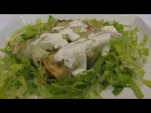 Enchilada Suizas — Lynn's Recipes