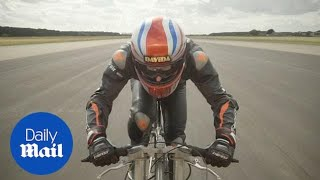 New Guinness men's world cycling speed record set at 174.339mph