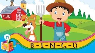 B-I-N-G-O (Bingo Was His Name-o) | Nursery Rhyme | Karaoke