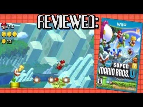 Reviewed: New Super Mario Bros U