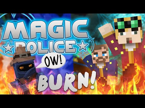 Minecraft Magic Police #74 - Burn The Witch (yogscast Complete Mod Pack) video