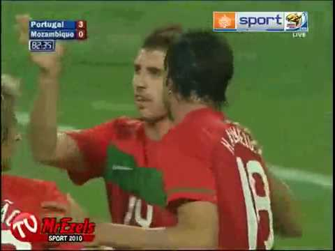 Portugal vs Mozambique 3-0 Goals Mozambique vs portugal c ronaldo