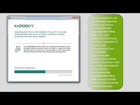 How to install Kaspersky Anti-Virus 2014