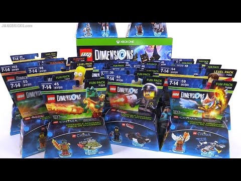 LEGO Dimensions release haul! ALL the things!