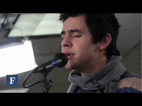 David Archuleta - Have Yourself A Merry Little Christmas (live)