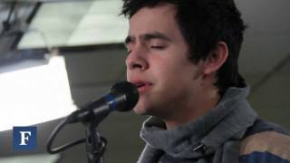 Клип David Archuleta - Have Yourself A Merry Little Christmas (live)