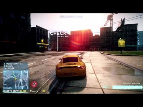 Need for Speed Most Wanted Gameplay Video -- E3 2012 Official