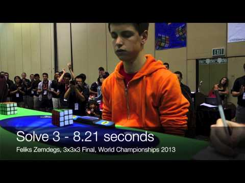 Feliks Zemdegs - Rubik's Cube World Champion 2013