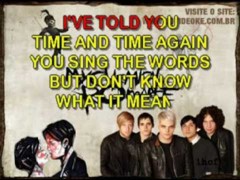My Chemical Romance   I'm Not Okay
